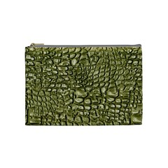 Aligator Skin Cosmetic Bag (medium)  by BangZart
