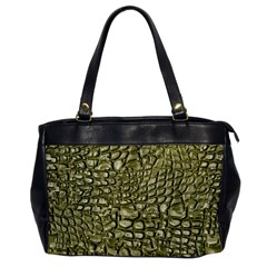 Aligator Skin Office Handbags