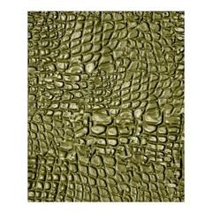 Aligator Skin Shower Curtain 60  X 72  (medium)  by BangZart