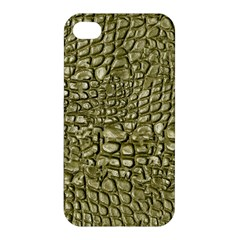 Aligator Skin Apple Iphone 4/4s Premium Hardshell Case by BangZart