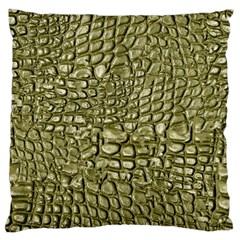 Aligator Skin Large Cushion Case (two Sides)