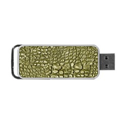 Aligator Skin Portable Usb Flash (one Side) by BangZart