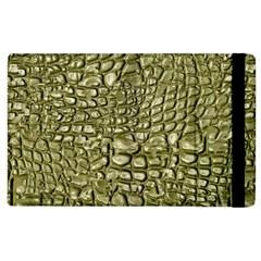 Aligator Skin Apple Ipad 3/4 Flip Case by BangZart