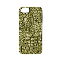 Aligator Skin Apple Iphone 5 Classic Hardshell Case (pc+silicone) by BangZart