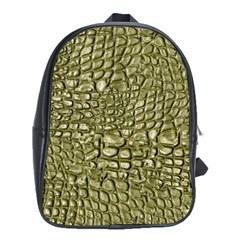 Aligator Skin School Bags (xl)  by BangZart
