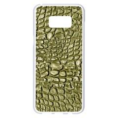 Aligator Skin Samsung Galaxy S8 Plus White Seamless Case