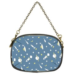 Space Rockets Pattern Chain Purses (one Side)  by BangZart