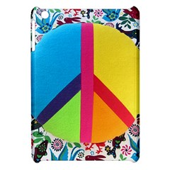 Peace Sign Animals Pattern Apple Ipad Mini Hardshell Case by BangZart