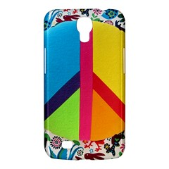 Peace Sign Animals Pattern Samsung Galaxy Mega 6 3  I9200 Hardshell Case
