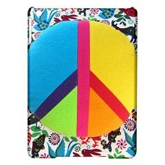 Peace Sign Animals Pattern Ipad Air Hardshell Cases