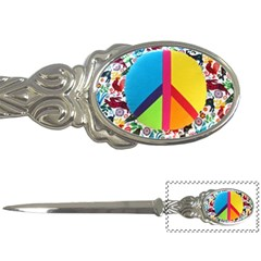Peace Sign Animals Pattern Letter Openers
