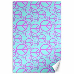 Peace Sign Backgrounds Canvas 20  X 30   by BangZart