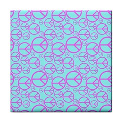Peace Sign Backgrounds Face Towel by BangZart