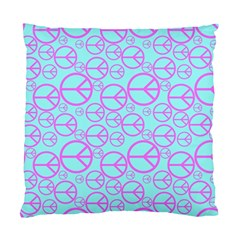 Peace Sign Backgrounds Standard Cushion Case (one Side) by BangZart