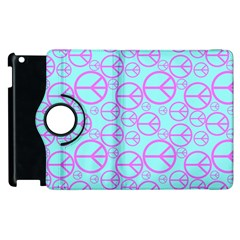 Peace Sign Backgrounds Apple Ipad 3/4 Flip 360 Case by BangZart