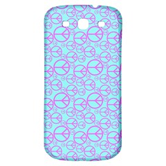 Peace Sign Backgrounds Samsung Galaxy S3 S Iii Classic Hardshell Back Case