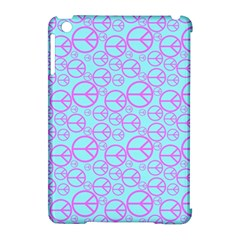 Peace Sign Backgrounds Apple Ipad Mini Hardshell Case (compatible With Smart Cover) by BangZart