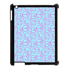 Peace Sign Backgrounds Apple Ipad 3/4 Case (black)