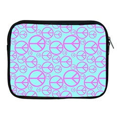 Peace Sign Backgrounds Apple Ipad 2/3/4 Zipper Cases by BangZart