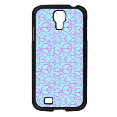 Peace Sign Backgrounds Samsung Galaxy S4 I9500/ I9505 Case (black) by BangZart