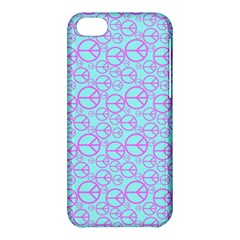 Peace Sign Backgrounds Apple Iphone 5c Hardshell Case