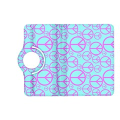Peace Sign Backgrounds Kindle Fire Hd (2013) Flip 360 Case by BangZart
