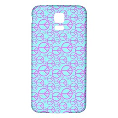 Peace Sign Backgrounds Samsung Galaxy S5 Back Case (white)