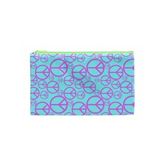 Peace Sign Backgrounds Cosmetic Bag (xs) by BangZart
