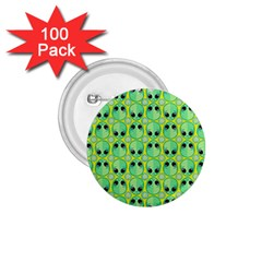 Alien Pattern 1 75  Buttons (100 Pack)  by BangZart
