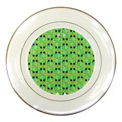 Alien Pattern Porcelain Plates by BangZart