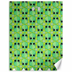 Alien Pattern Canvas 18  X 24