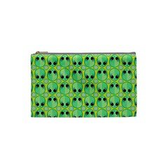 Alien Pattern Cosmetic Bag (small)  by BangZart
