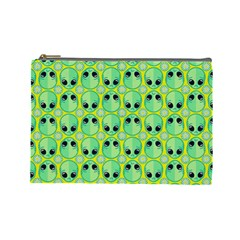 Alien Pattern Cosmetic Bag (large)