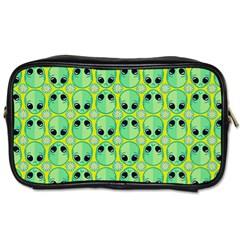 Alien Pattern Toiletries Bags 2 Side by BangZart