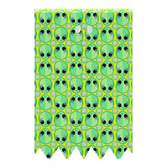 Alien Pattern Shower Curtain 48  X 72  (small)  by BangZart