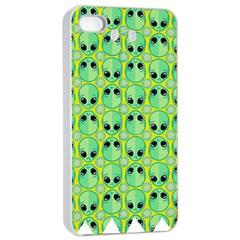 Alien Pattern Apple Iphone 4/4s Seamless Case (white)