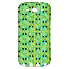 Alien Pattern Samsung Galaxy S3 S Iii Classic Hardshell Back Case by BangZart