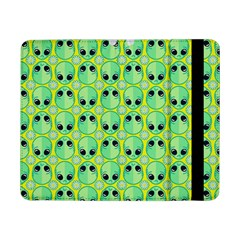 Alien Pattern Samsung Galaxy Tab Pro 8 4  Flip Case by BangZart