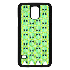 Alien Pattern Samsung Galaxy S5 Case (black)