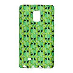 Alien Pattern Galaxy Note Edge by BangZart