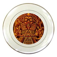 Alien Dj Porcelain Plates by BangZart
