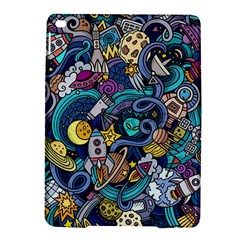 Cartoon Hand Drawn Doodles On The Subject Of Space Style Theme Seamless Pattern Vector Background Ipad Air 2 Hardshell Cases by BangZart
