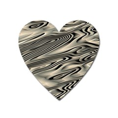 Alien Planet Surface Heart Magnet by BangZart