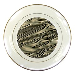 Alien Planet Surface Porcelain Plates by BangZart