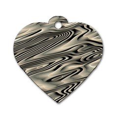 Alien Planet Surface Dog Tag Heart (one Side) by BangZart