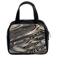 Alien Planet Surface Classic Handbags (2 Sides)