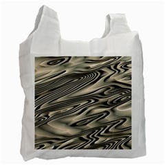Alien Planet Surface Recycle Bag (two Side)