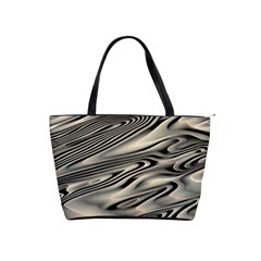 Alien Planet Surface Shoulder Handbags by BangZart