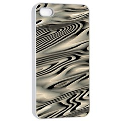 Alien Planet Surface Apple Iphone 4/4s Seamless Case (white) by BangZart