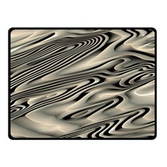 Alien Planet Surface Double Sided Fleece Blanket (small)  by BangZart